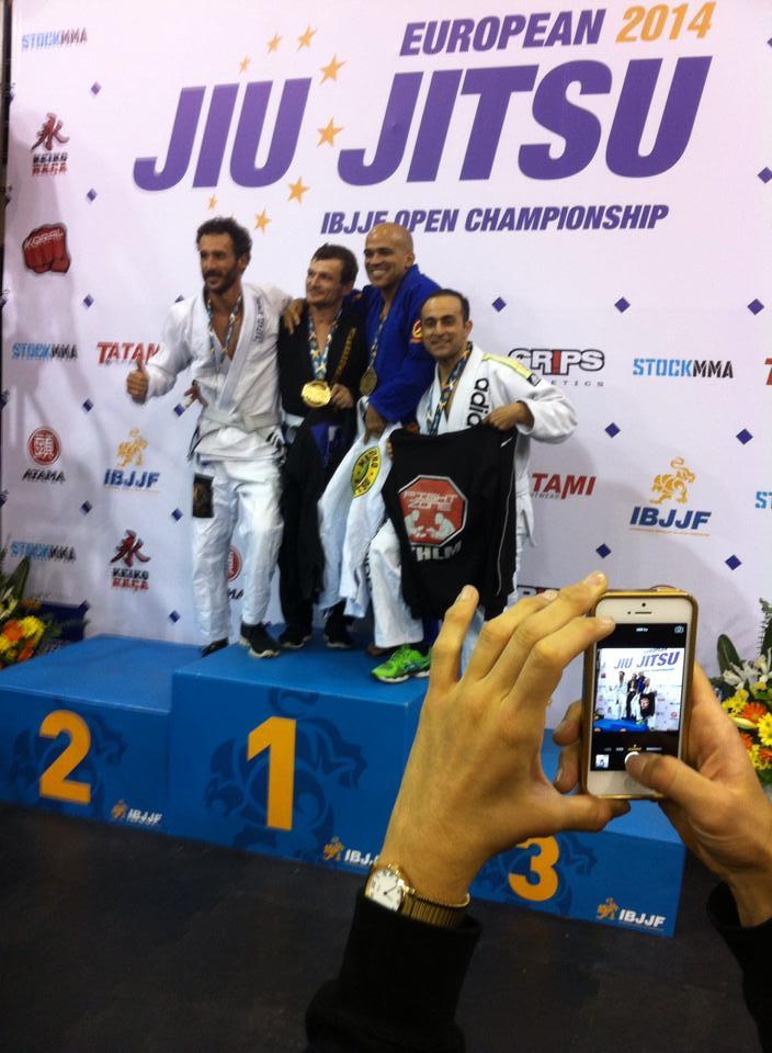 Mohammad Nazemi Shad 3 plats Bjj EM Portugal 2014