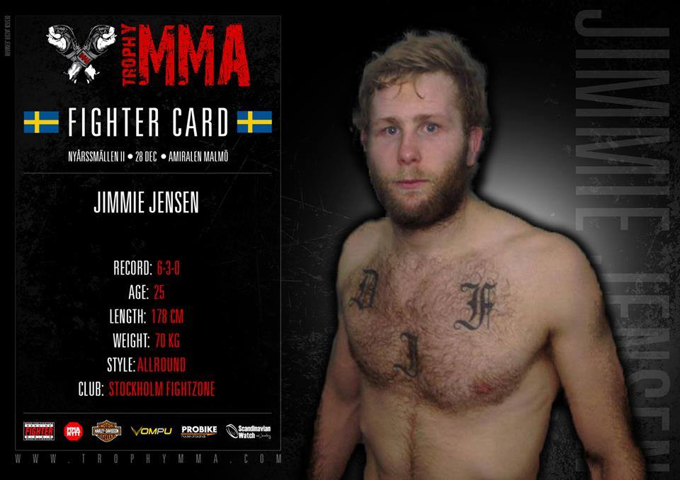jimmie jensen fight profile VM