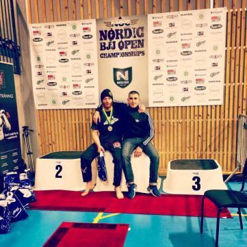 Lava och Hakan Nordic Open 2015