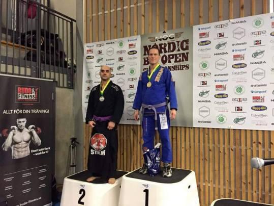 Nordic open. Lila Master -83. Silver. Simon Dimeo